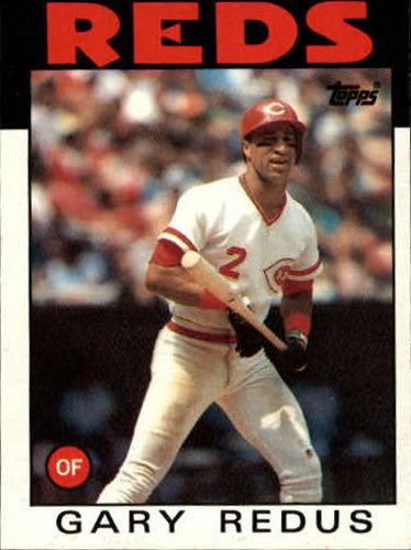 Photo of 1986 Topps #342 Gary Redus