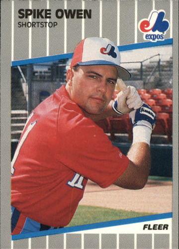 Photo of 1989 Fleer Update #98 Spike Owen