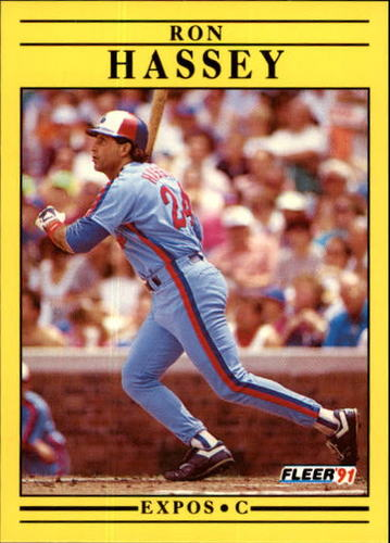 Photo of 1991 Fleer Update #98 Ron Hassey