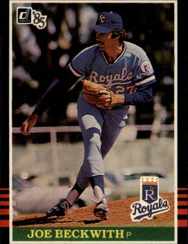 Photo of 1985 Donruss #541 Joe Beckwith