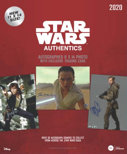 2020 11x14 Star Wars Authentics Blind Pack