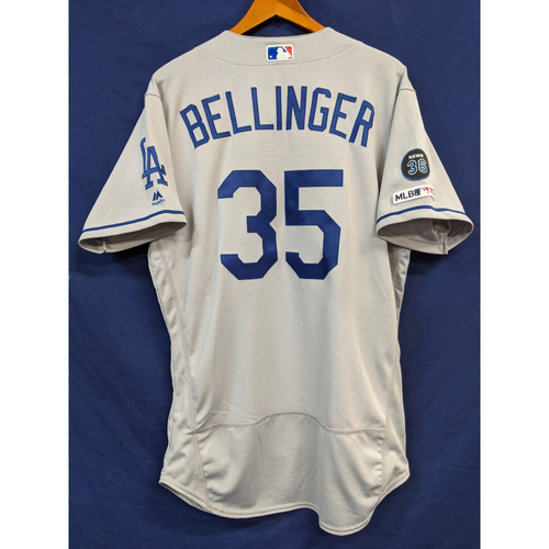 Photo of Cody Bellinger 2019 Team Issued Road Jersey