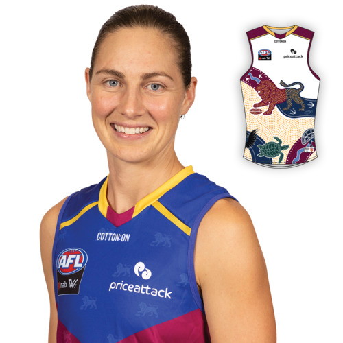 Photo of 2021 AFLW Indigenous Guernsey - Rheanne Lugg
