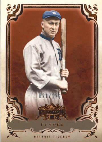 Photo of 2013 Topps Triple Threads Amber #75 Ty Cobb