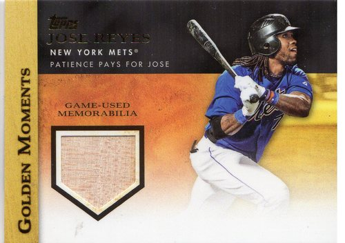 Photo of 2012 Topps Golden Moments Relics #JR Jose Reyes