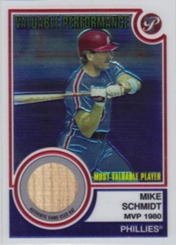 Photo of 2005 Topps Pristine Legends Valuable Performance Relics #MS Mike Schmidt Bat C