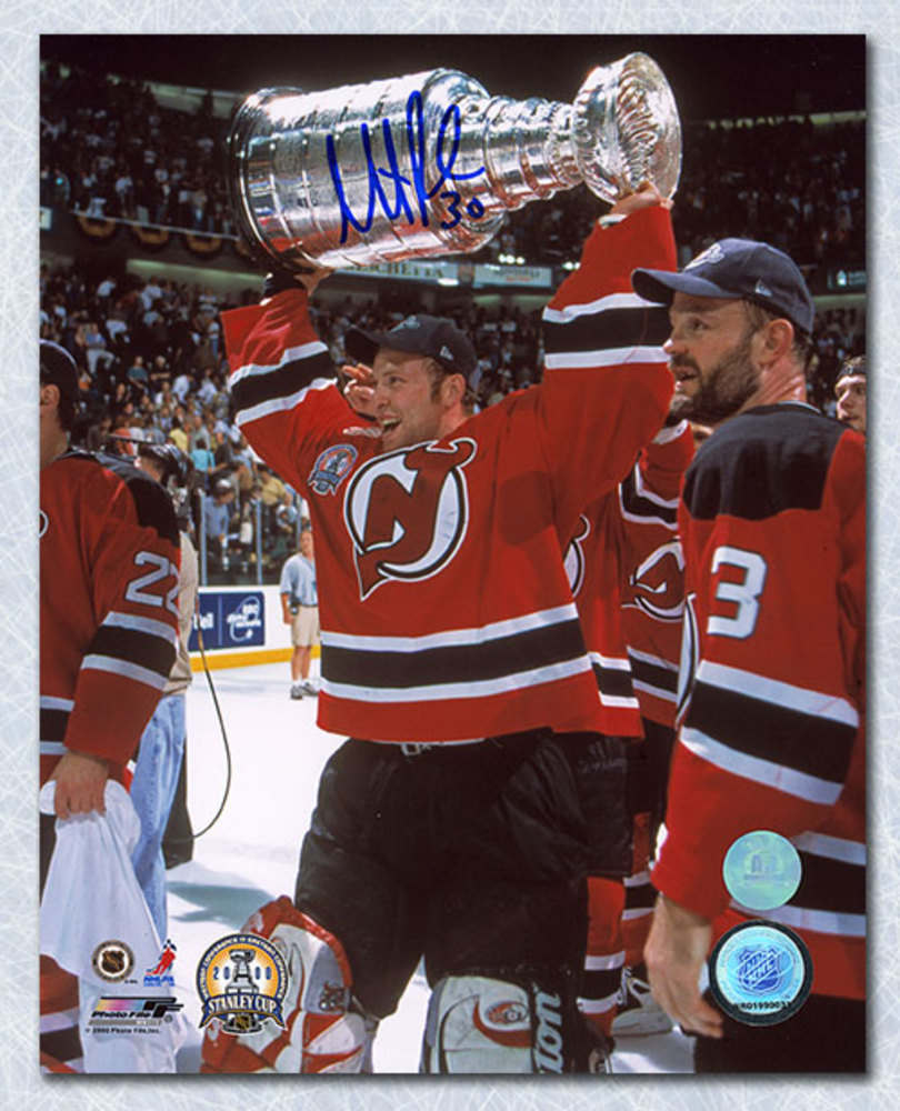 Martin Brodeur New Jersey Devils Autographed 2000 Stanley Cup 8x10 Photo