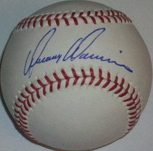 Photo of Danny Darwin Autographed Baseball