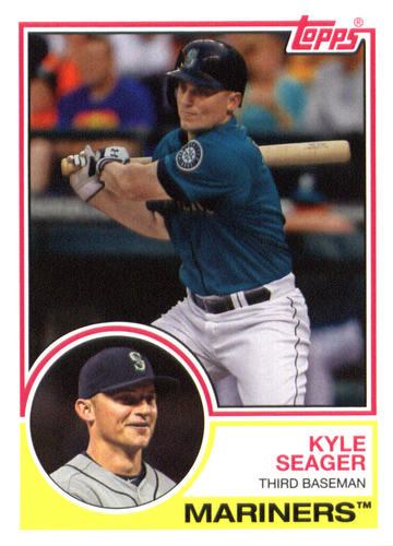 Photo of 2015 Topps Archives #268 Kyle Seager