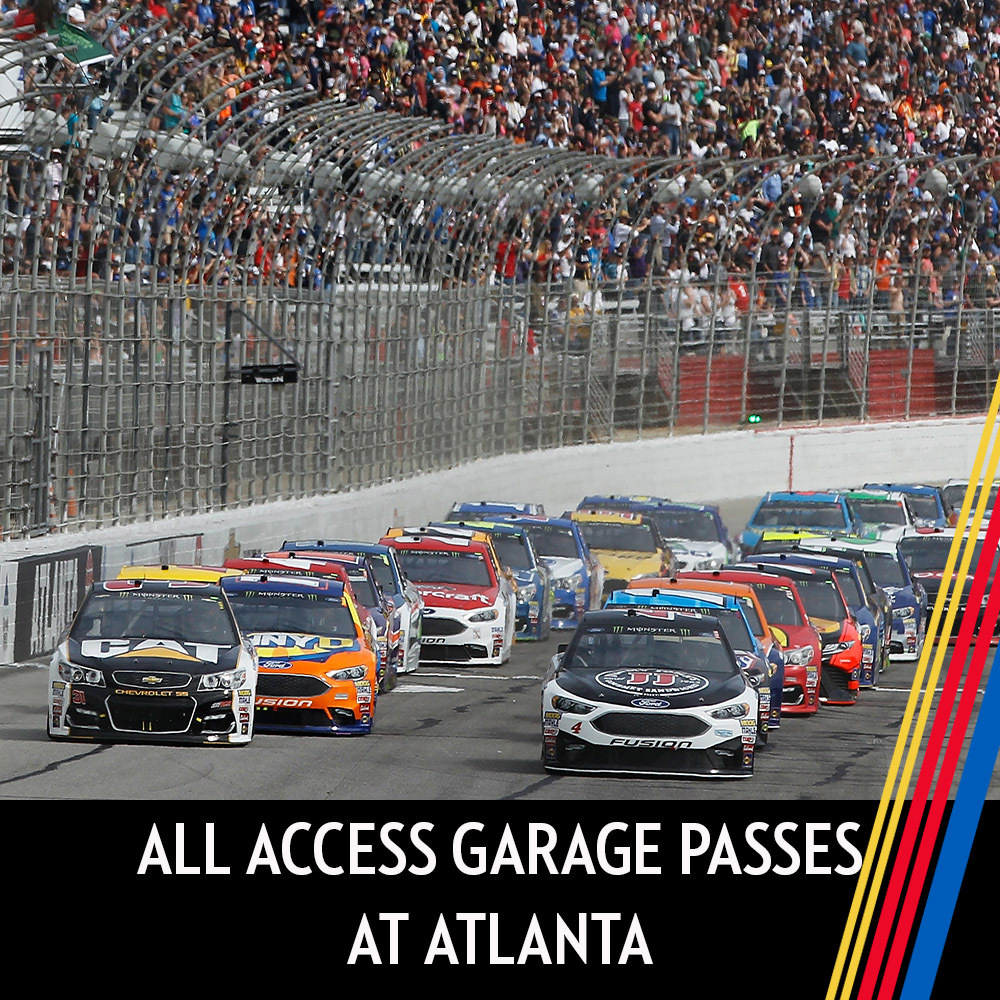 All Access Garage Passes at Atlanta!