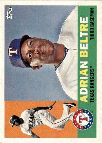 Photo of 2017 Topps Archives #66 Adrian Beltre