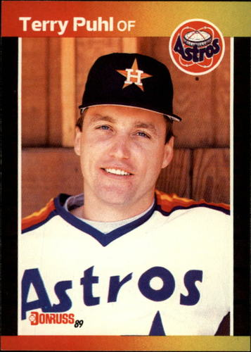 Photo of 1989 Donruss #472 Terry Puhl
