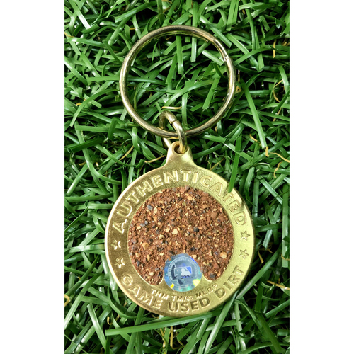Photo of Rays Baseball Foundation: Game Used Dirt Key Chain