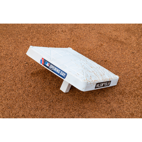 Photo of 2020 Opening Day Game-Used Base - 1st Base