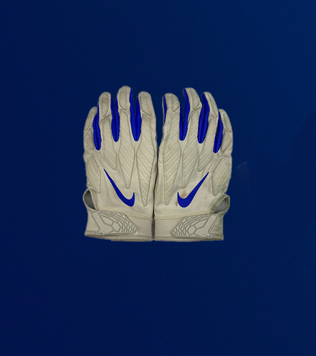 Photo of Playoff Edition: Aaron Donald Game Used Gloves - (1/09/2021 VS. Seattle Seahawks)
