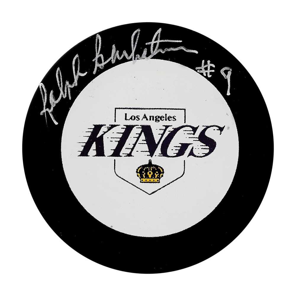 Ralph Backstrom Autographed Los Angeles Kings Puck