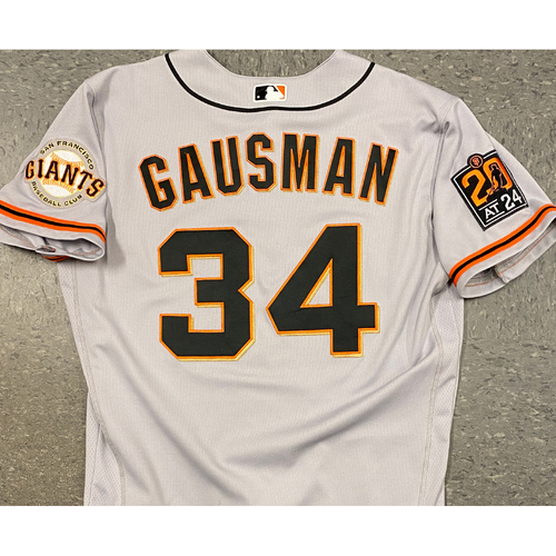 Photo of 2020 Team Issued Road Jersey - #34 Kevin Gausman - Size 44