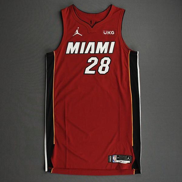 Image of Andre Iguodala - Miami Heat - Game-Worn - Statement Edition Jersey - Christmas Day 2020