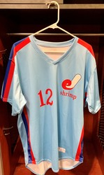Photo of Jacksonville Expos Fauxback Jersey #12 Size 46