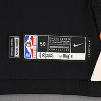 Taj Gibson - New York Knicks - Game-Worn City Edition Jersey - Dressed, Did Not Play (DNP) - 2020-21 NBA Season