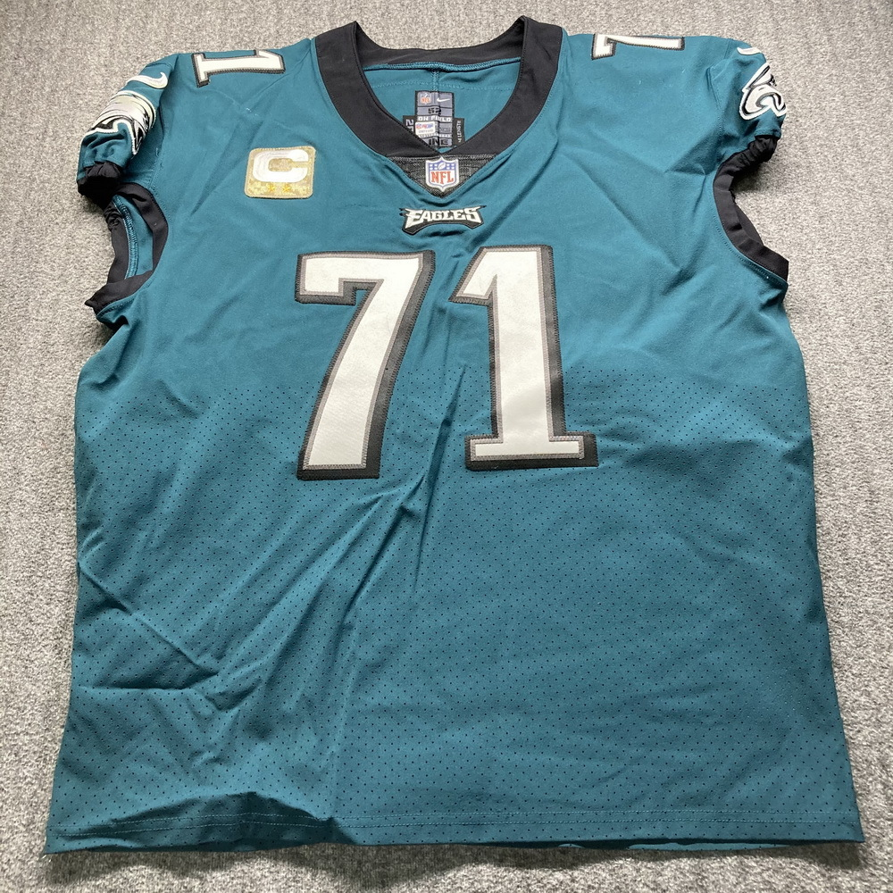 NFL Auction | STS - Eagles Jason Peters Game Used Jersey (11/1/20 ...