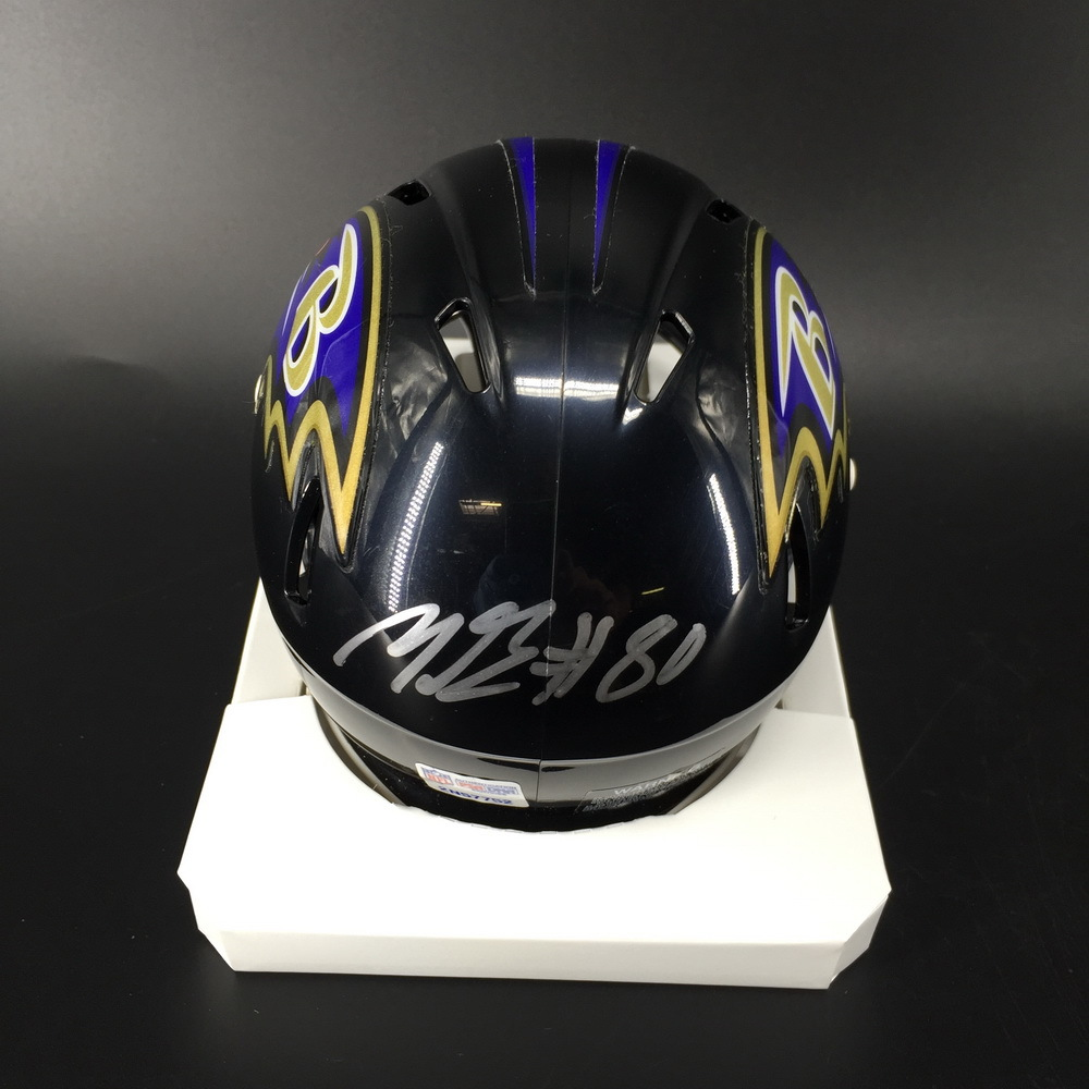 NFL - Ravens Miles Boykin Signed Mini Helmet