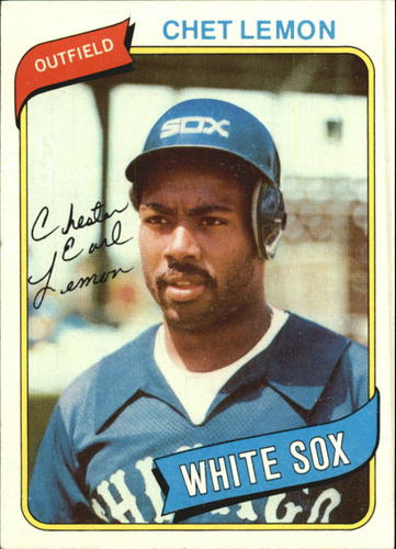 Photo of 1980 Topps #589 Chet Lemon