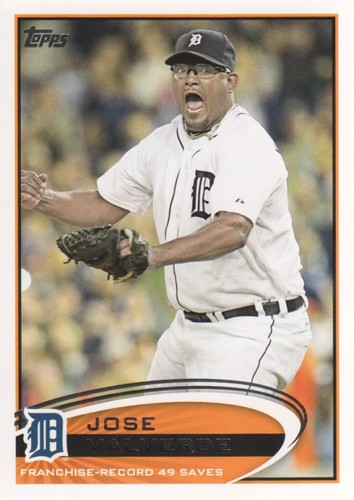 Photo of 2012 Topps #491 Jose Valverde RB
