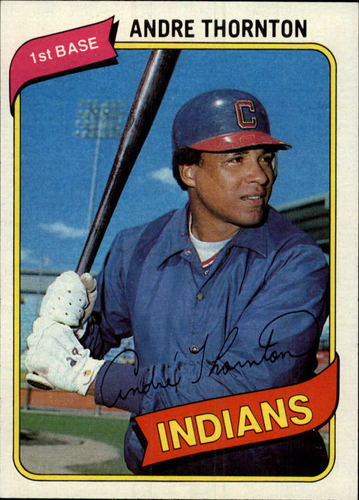 Photo of 1980 Topps #534 Andre Thornton