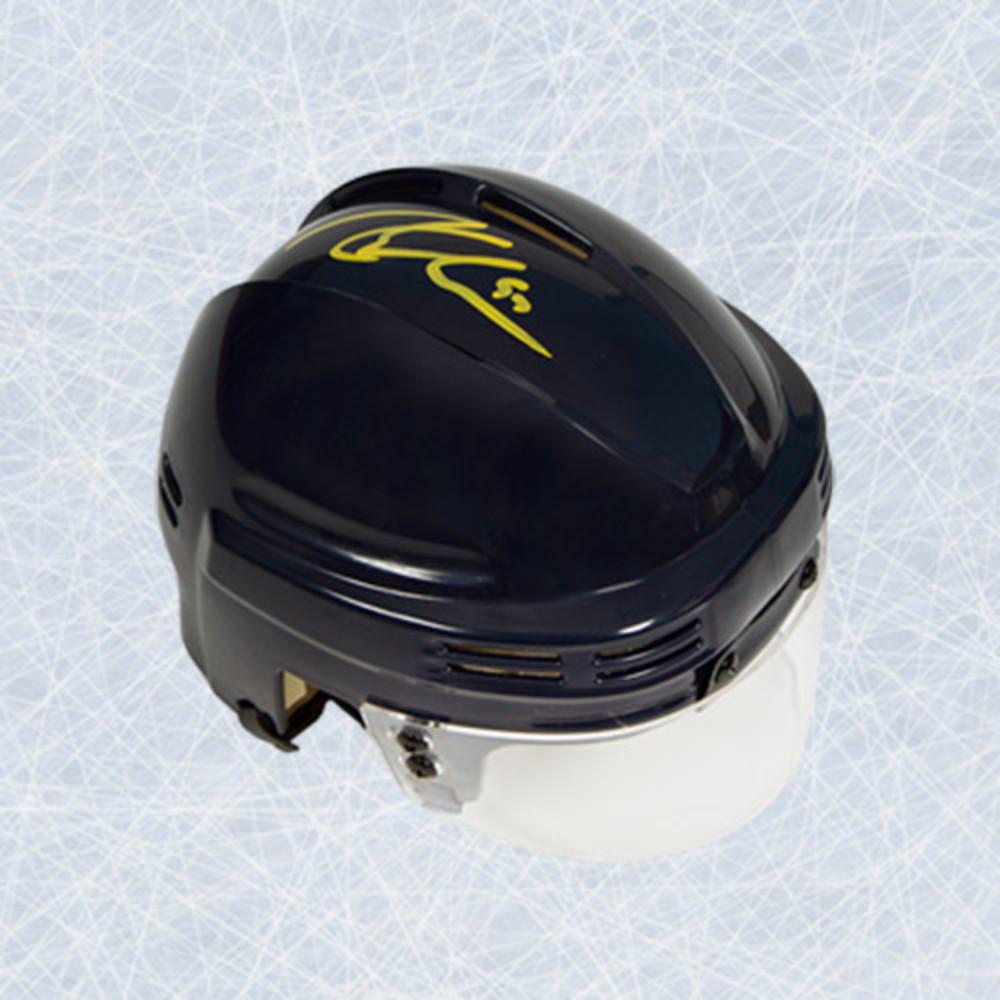 Connor McDavid Autographed Mini-Helmet