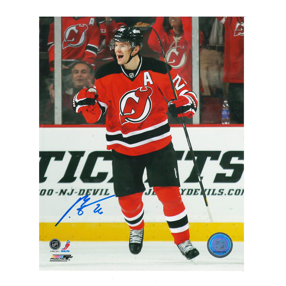 PATRIK ELIAS Signed New Jersey Devils 8 X 10 Photo - 70221