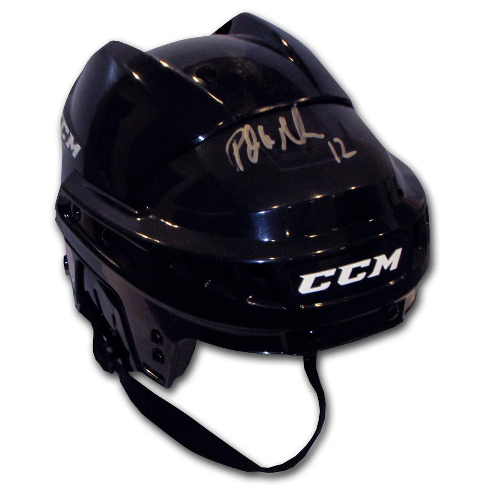 Patrick Marleau Autographed CCM Hockey Helmet