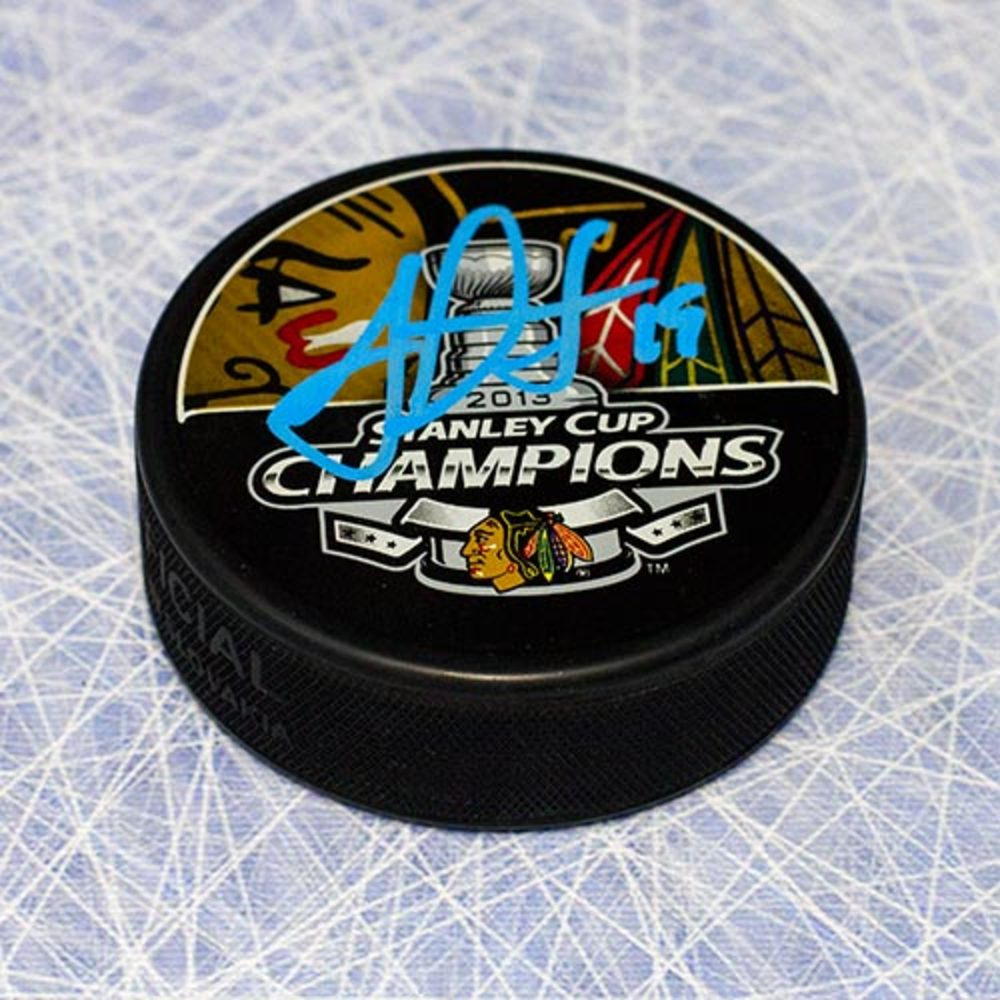 Jonathan Toews Chicago Blackhawks Autographed 2013 Stanley Cup Puck