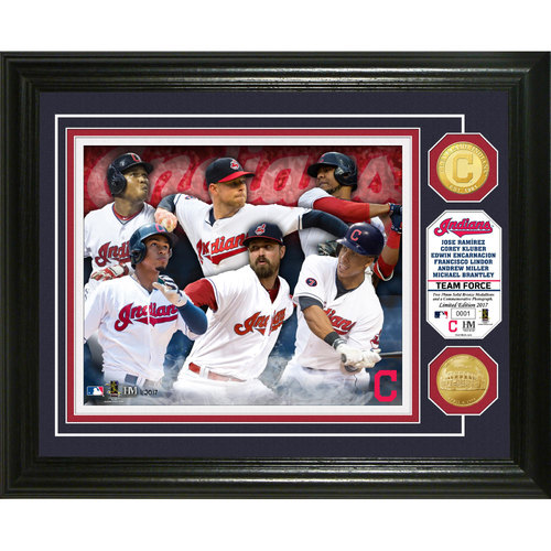 """Photo of Cleveland Indians """"Team Force"""" Bronze Coin Photo Mint"""