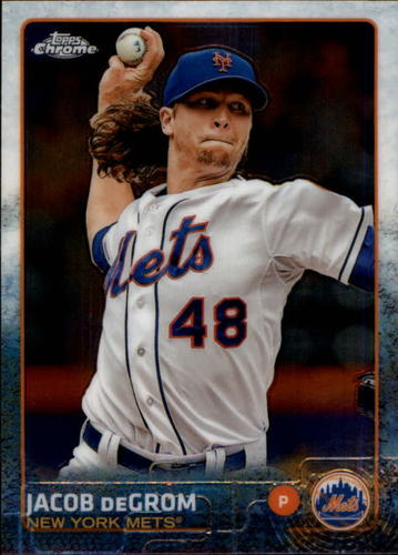 Photo of 2015 Topps Chrome #183 Jacob deGrom