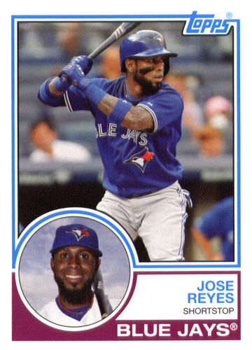 Photo of 2015 Topps Archives #274 Jose Reyes