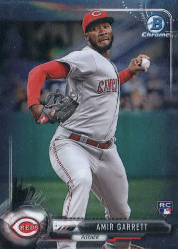 Photo of 2017 Bowman Chrome #95 Amir Garrett RC