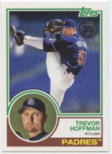 Photo of 2018 Topps Update '83 Topps #836 Trevor Hoffman