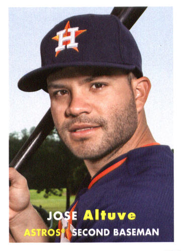 Photo of 2015 Topps Archives #67 Jose Altuve