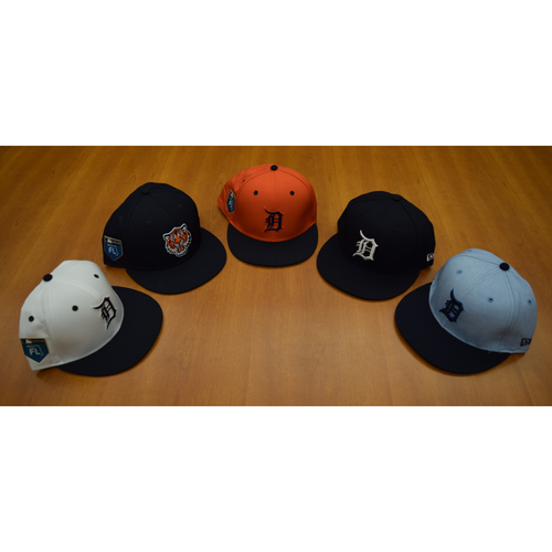 Detroit Tigers Foundation - Clubhouse Issued Cap Collection #8 (NOT MLB AUTHENTICATED)