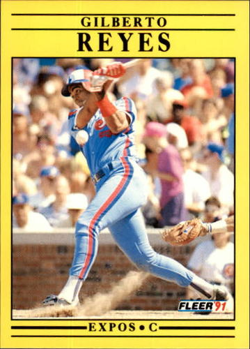 Photo of 1991 Fleer Update #99 Gilberto Reyes