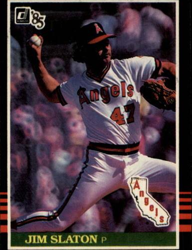 Photo of 1985 Donruss #545 Jim Slaton