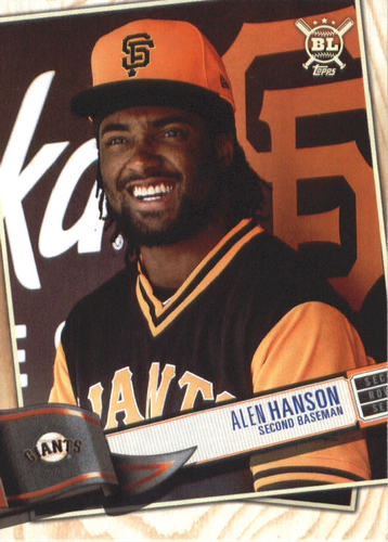 Photo of 2019 Topps Big League #304 Alen Hanson