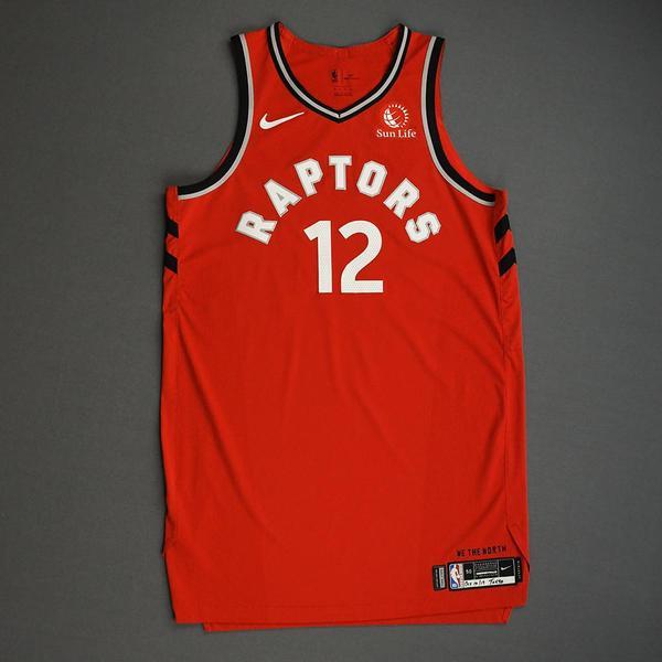 Image of Oshae Brissett - Toronto Raptors - Game-Worn Icon Edition Jersey - NBA Japan Games - 2019-20 NBA Season