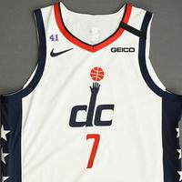 Jarrod Uthoff - Washington Wizards - Game-Issued City Edition Jersey - 2019-20 NBA Season Restart with Social Justice Message