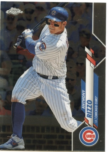 Photo of 2020 Topps Chrome #71 Anthony Rizzo