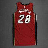 Andre Iguodala - Miami Heat - Game-Worn - Statement Edition Jersey - Christmas Day 2020