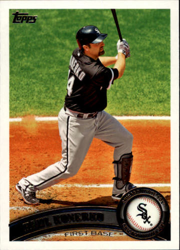 Photo of 2011 Topps #93A Paul Konerko