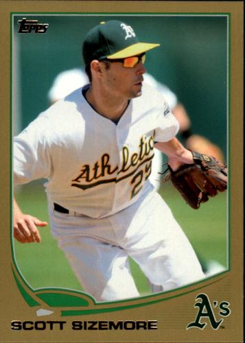 Photo of 2013 Topps Gold #496 Scott Sizemore