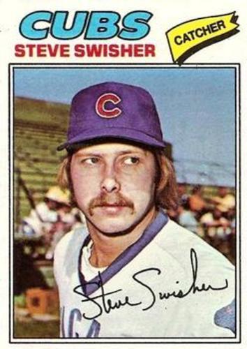 Photo of 1977 Topps #419 Steve Swisher